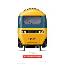 7mm Class 43 HST Power Car