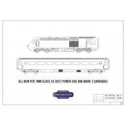 7mm MK3 Loco-haul Coaches...