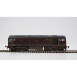 Class 33 33029 West Coast...