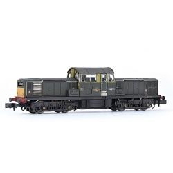 Class 17 D8511 BR Green...