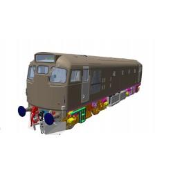 O Gauge Class 27 - BR Blue...