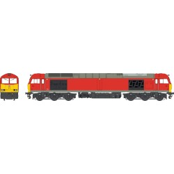 Class 60 - DB Traffic Red...
