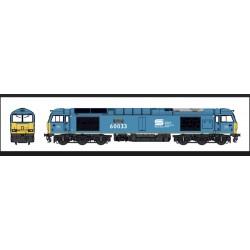 Class 60 - 60033 'Tees...