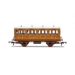 GNR, 4 Wheel Coach, 1st...