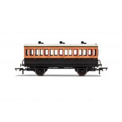 LSWR, 4 Wheel Coach, 3rd...