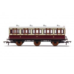LNWR, 6 Wheel Coach, 3rd...