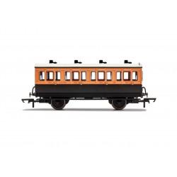 LSWR, 4 Wheel Coach, 1st...