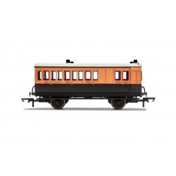 LSWR, 4 Wheel Coach, Brake...