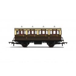 GWR, 4 Wheel Coach, 1st...