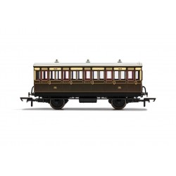 GWR, 4 Wheel Coach, 3rd...
