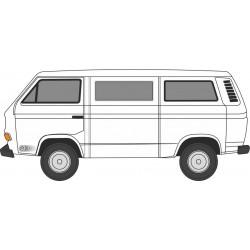 VW T25 Bus Pastel White