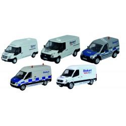 Stobart Group 5 Piece Van Set