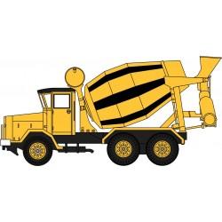 AEC 690 Cement Mixer Yellow...