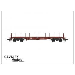 BBA Wagon - Bauxite Livery...