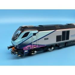 Class 68 68023 Achilles TPE...