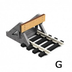 G Scale Buffer Stop w/Real...