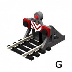 G Scale Buffer Stop w/Light...