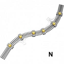 N Flexible Track Holder