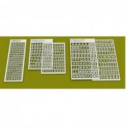 Laser-Cut Letters 5mm (1/5...