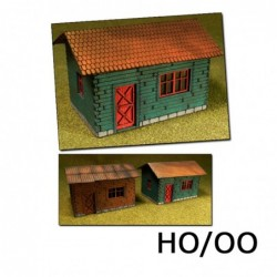 Laser-Cut Cottages Kit (2...