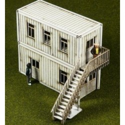 Laser-Cut Container Offices...