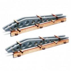 2 X Aircraft Wing Ribs
