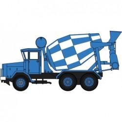 AEC 690 Concrete Mixer Blue