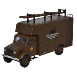 Bedford OY Van Civil Defence