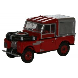 """Red Land Rover 88"""" Fire"""