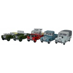 Land Rover 5 Piece Set
