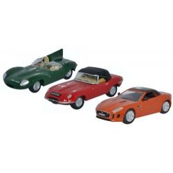 3 Piece Jaguar Set D E F Type