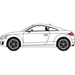Audi TT Coupe Glacier White