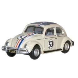 Pearl White 53 VW Beetle