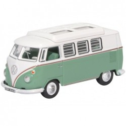 VW T1 Camper Turquoise/White