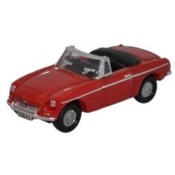 MGB Roadster Tartan Red
