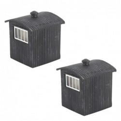 Great Central Lamp Huts (x2)