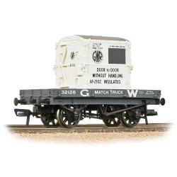 1 Plank Wagon GWR Grey With...