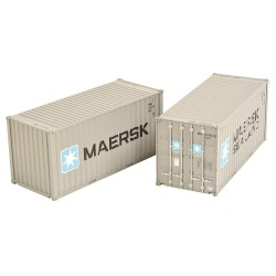 20ft Containers 'Maersk'...