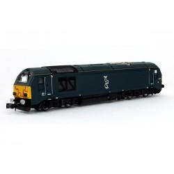 Class 67 67010 Caledonian...
