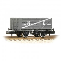 7 Plank Wagon End Door NE Grey