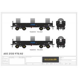 JSA Bogie Open Steel Wagon...