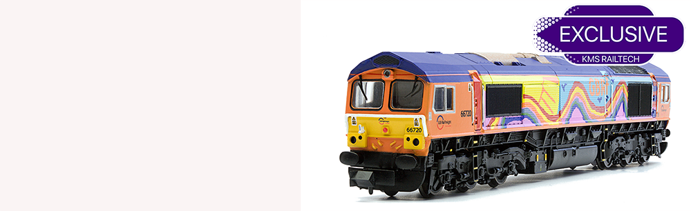 O GAUGE CLASS 66 EXCLUSIVE TO KMS RAILTECH!